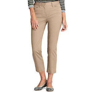 The Limited Khaki Capri Pants Cream Tan Size 2R